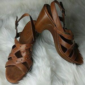 Aerosoles heeled sandals
